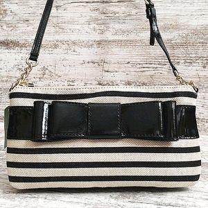 ⚃NWT Kate Spade ♠️ Celina Black & Cream Bag